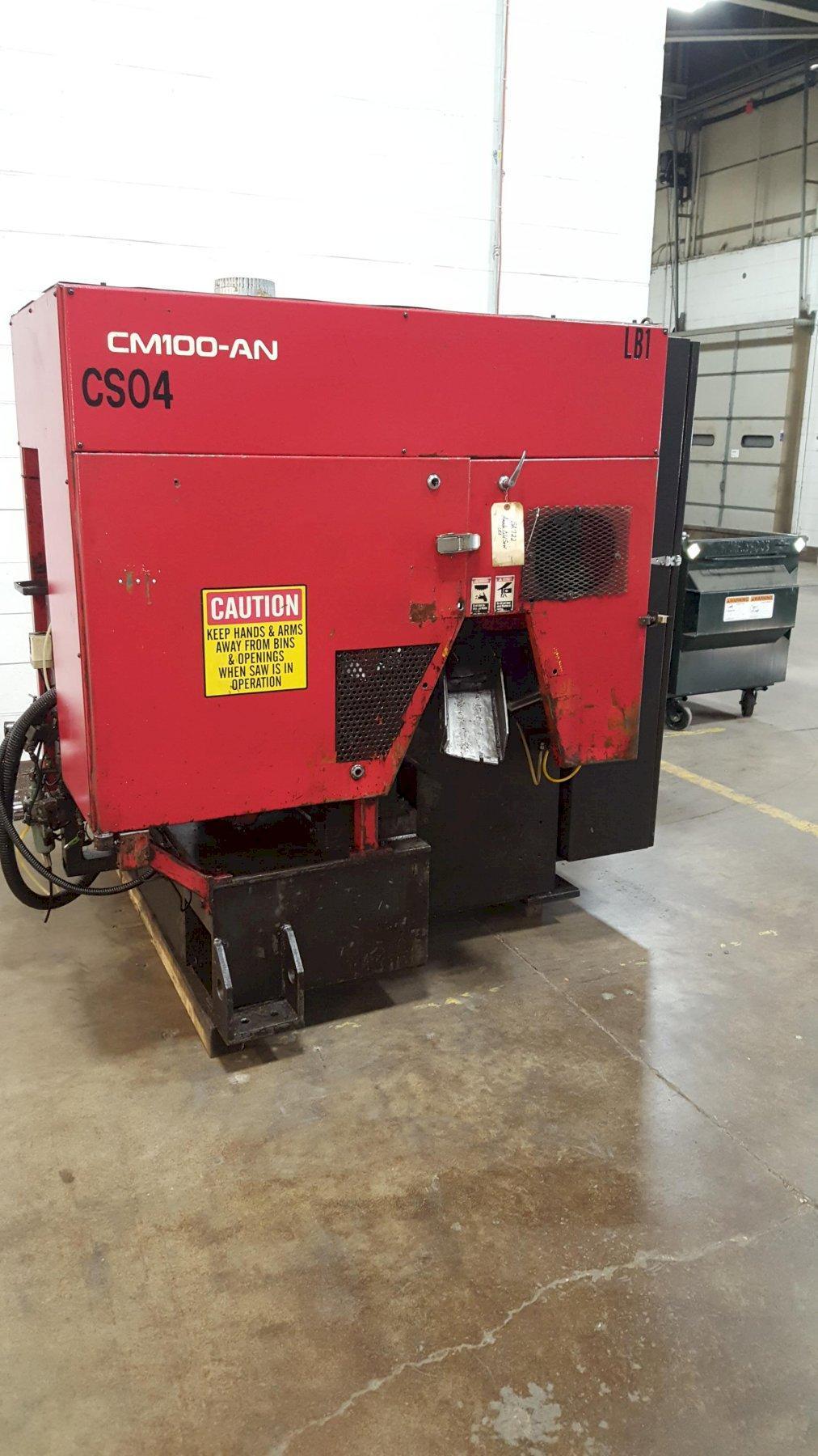 Amada Model CM100AN Carbide Circular Blade Saw System