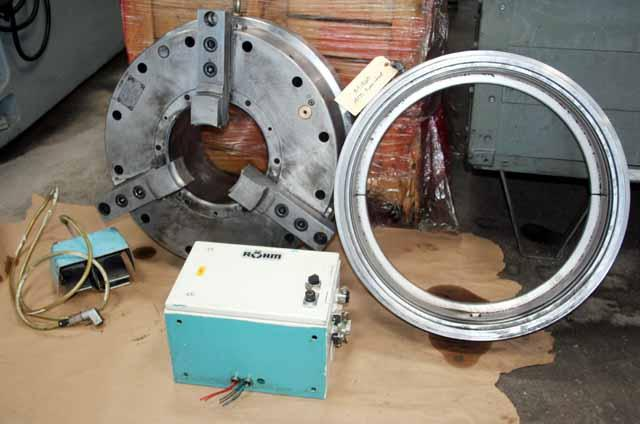 25 3-Jaw ATS Systems Model BP-640-275 Self Contained Pneumatic Power Chuck
