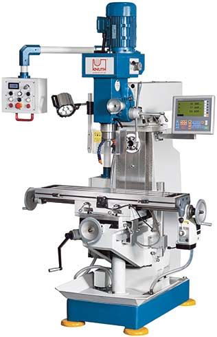 KNUTH MODEL VHF 1.1 UNIVERSAL MILLING MACHINE