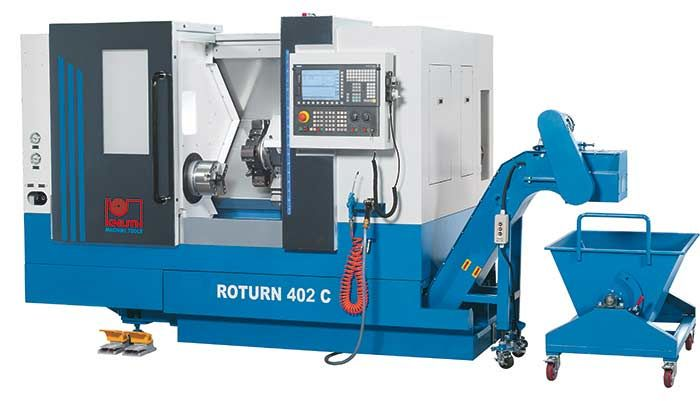KNUTH ROTURN 402 C CNC INCLINED BED LATHE