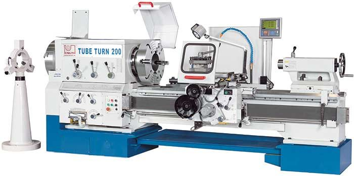 "KNUTH ""TubeTurn"" LARGE BORE UNIVERSAL LATHE"