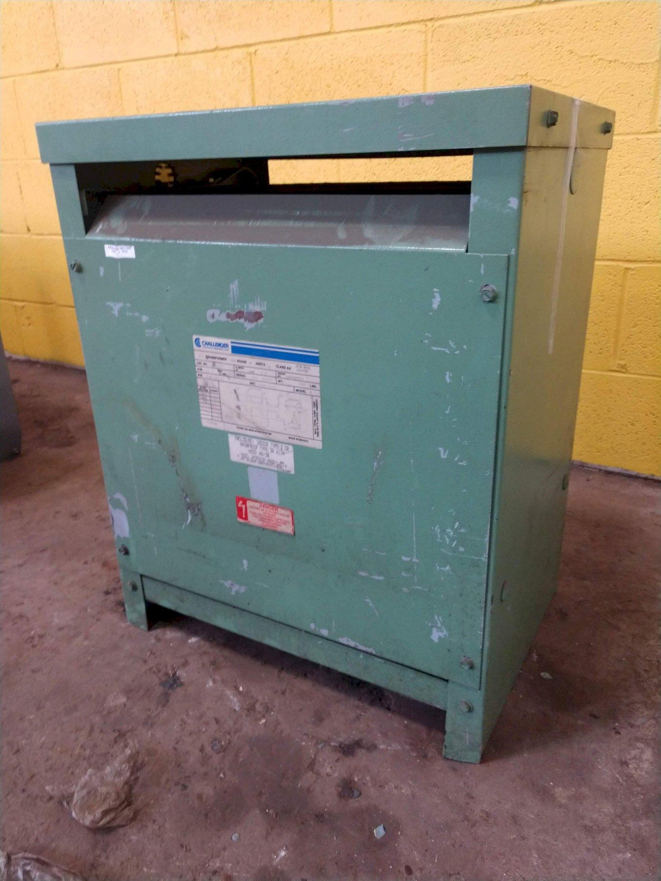 14 KVA CHALLENGER 460 DELTA TO 460Y/166 ELECTRICAL TRANSFORMER: STOCK 12903
