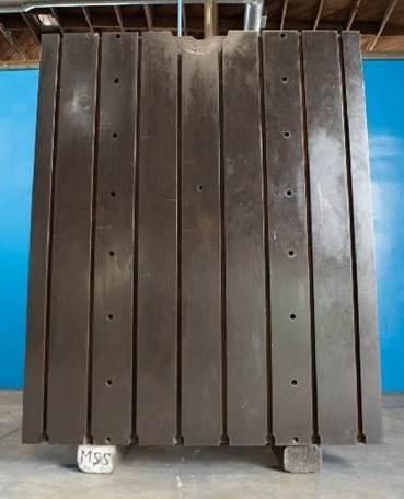 """72"""" W X 89"""" H X 94"""" T & S T SLOTTED ANGLE PLATE: STOCK #10888"""