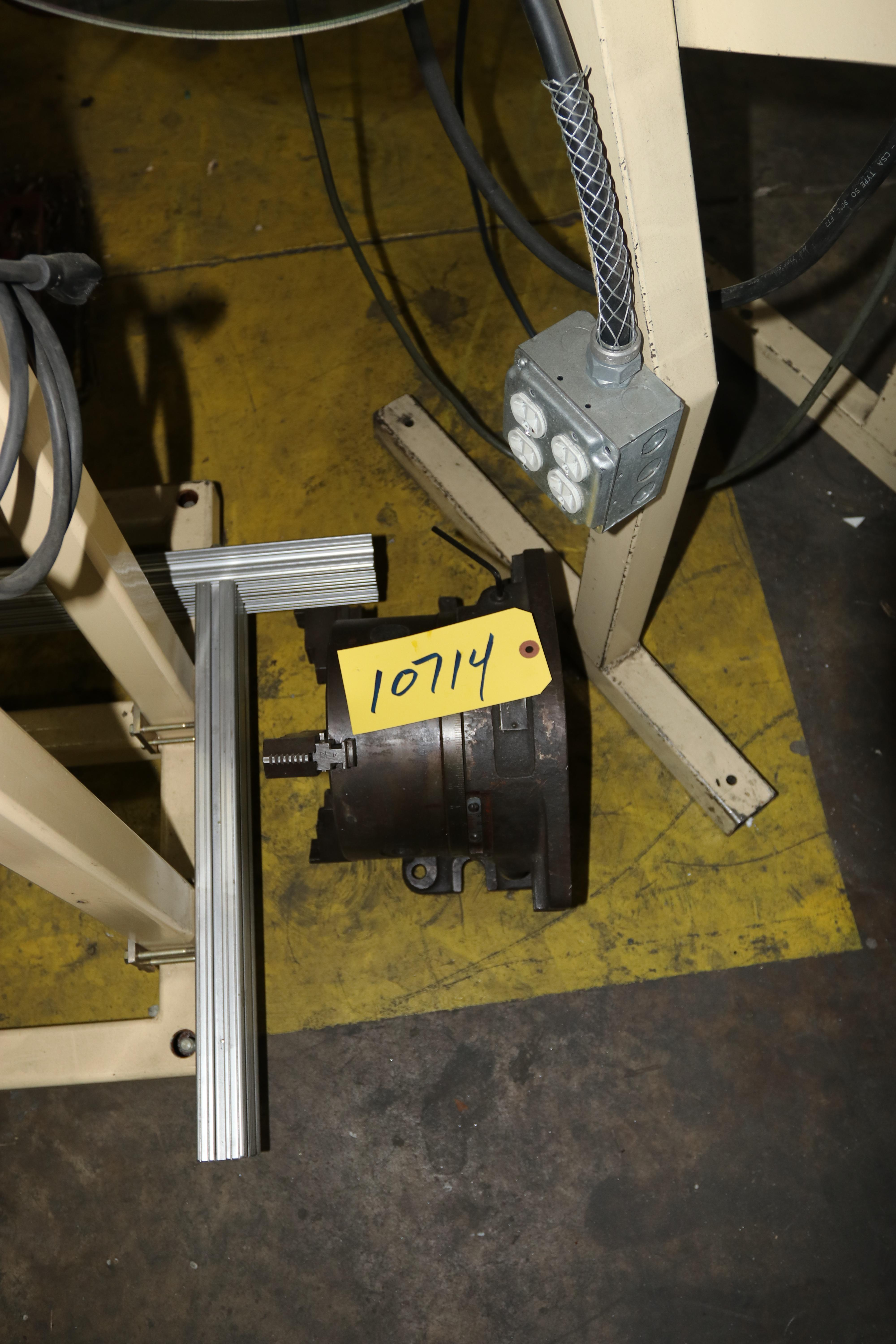 """8"""" NATIONAL HORIZONTAL / VERTICAL ROTARY TABLE: STOCK 10714"""