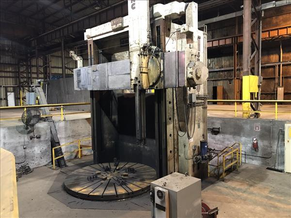 "GRAY 144"" CNC VERTICAL BORING MILL"