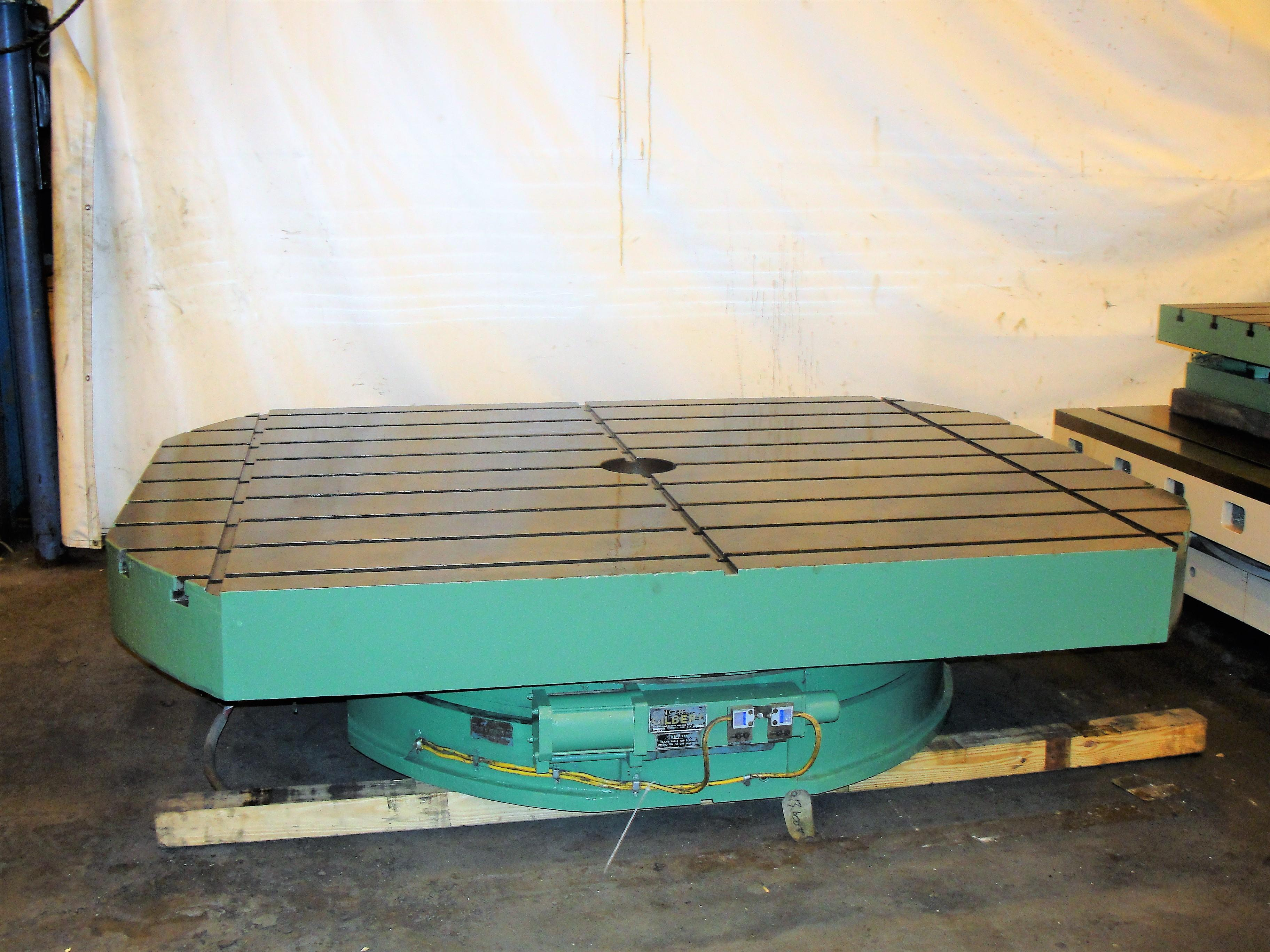 "72"" x 96"" Cincinnati – Gilbert Air Lift Index Table