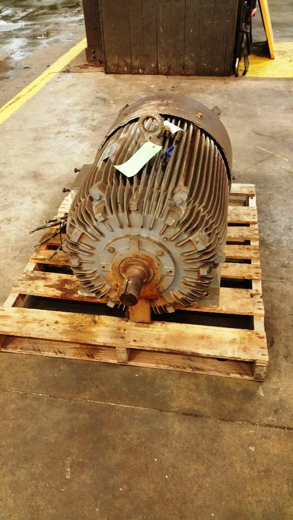 Blanchard Spindle Motor (Geared Head) TECO 150 HP