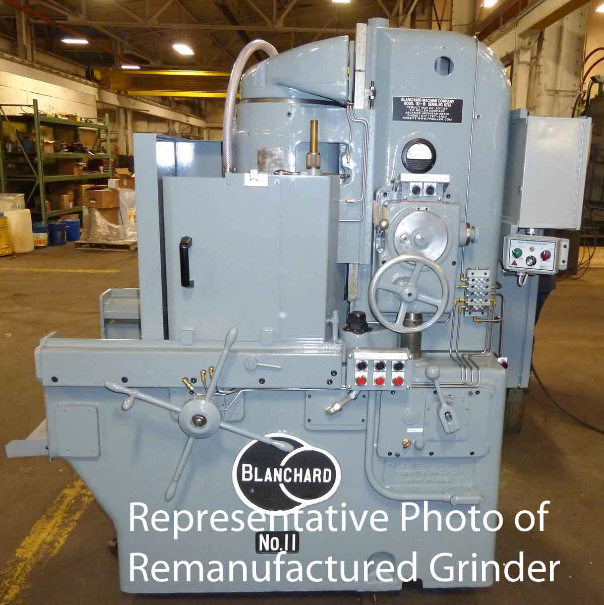 "Blanchard #11D-16, 16"" Vertical Spindle Rotary Surface Grinder"