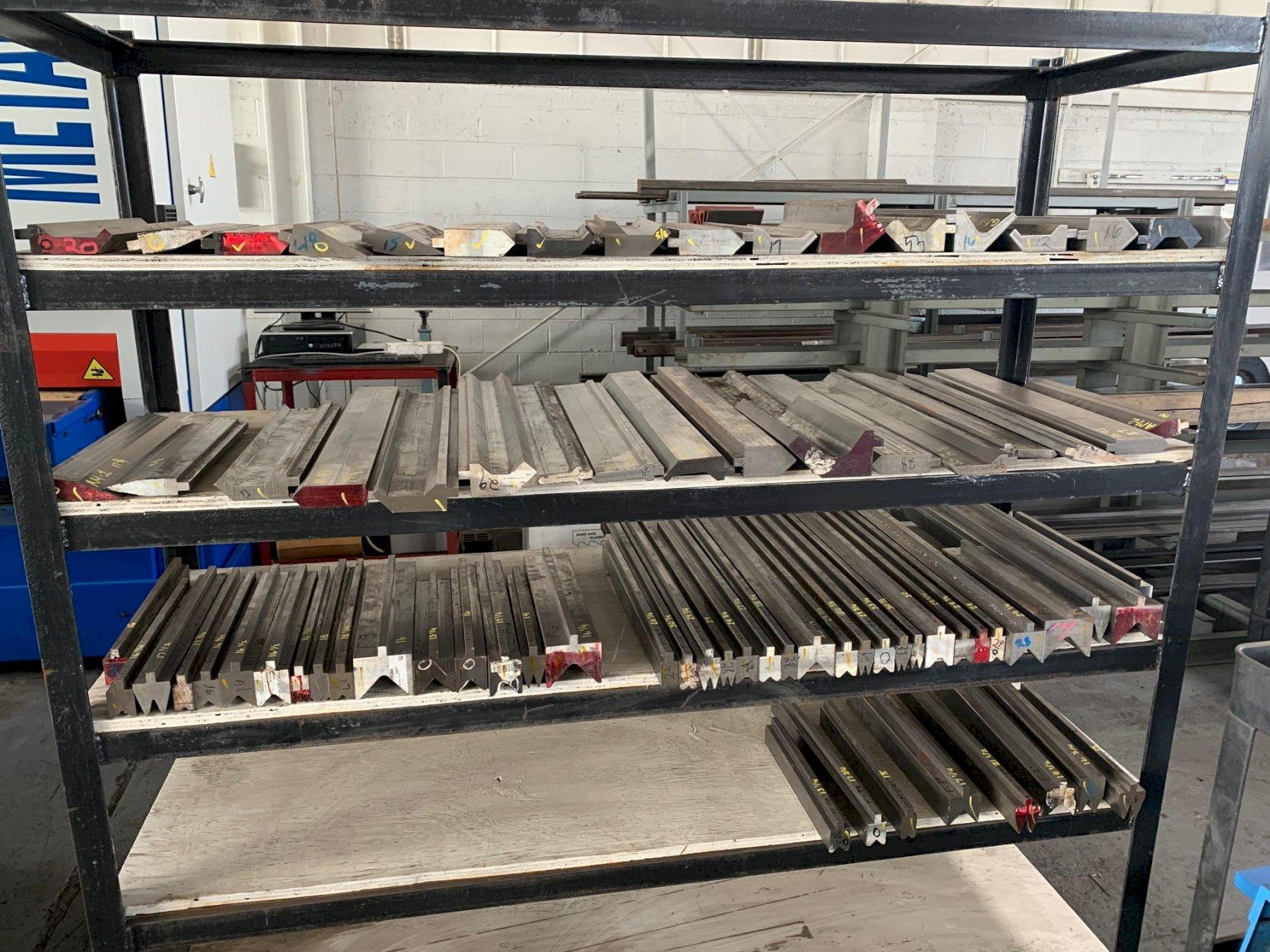 NEW PRESS BRAKE TOOLING DROPS IN STOCK, VARIOUS LENGTHS AND SIZES