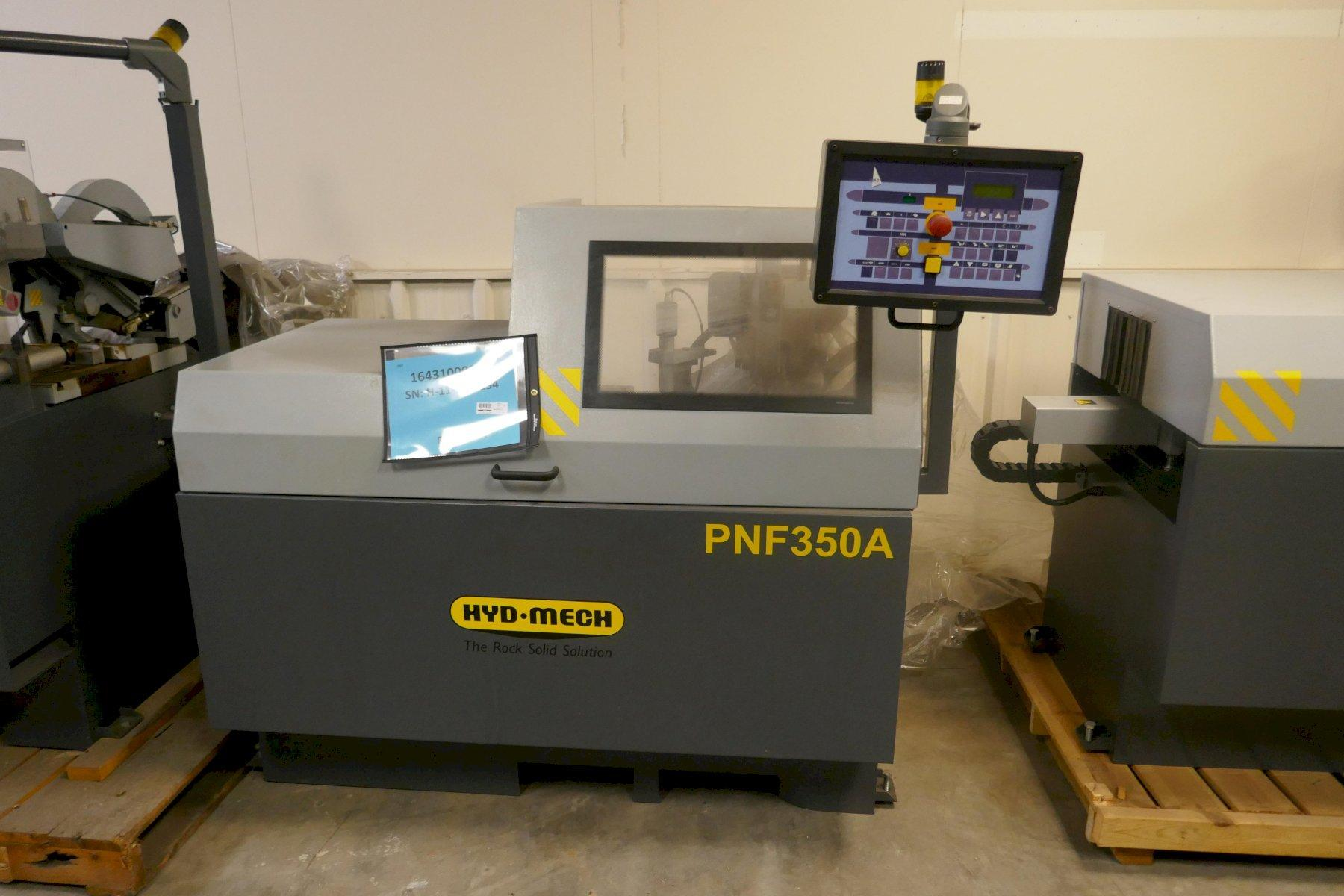 DEMO HYD-MECH MODEL PNF 350A FULLY AUTOMATIC NON-FERROUS CIRCULAR SAW (ALUMINUM), Stock # 10768,