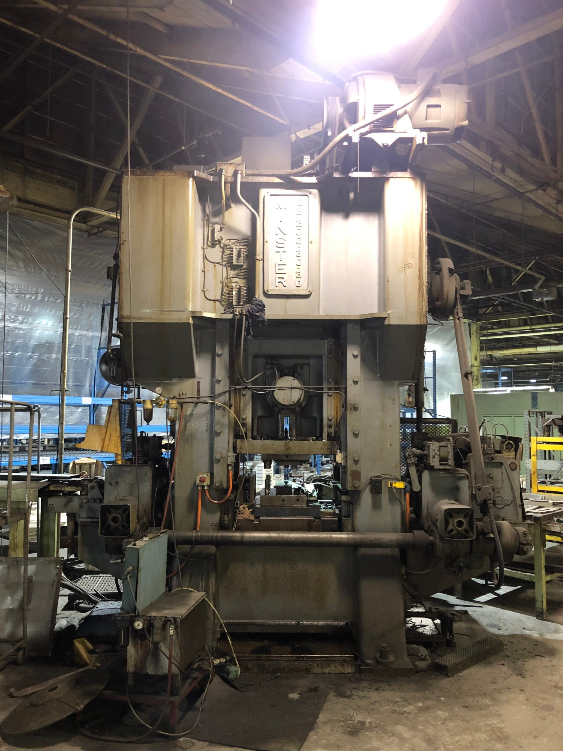 1966 Minster E2 - 200 Straight Side Production Press(#3862)