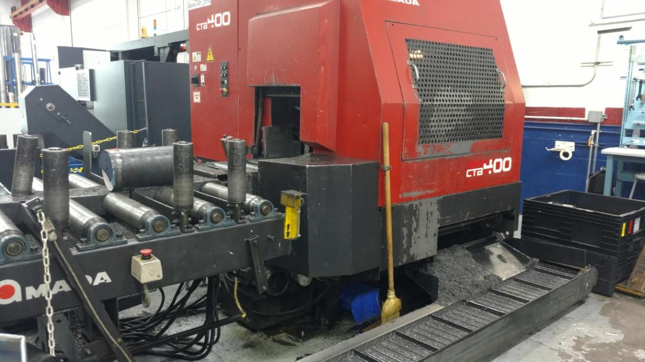 2001 Amada CTB-400 CNC Bandsaw (#3222)