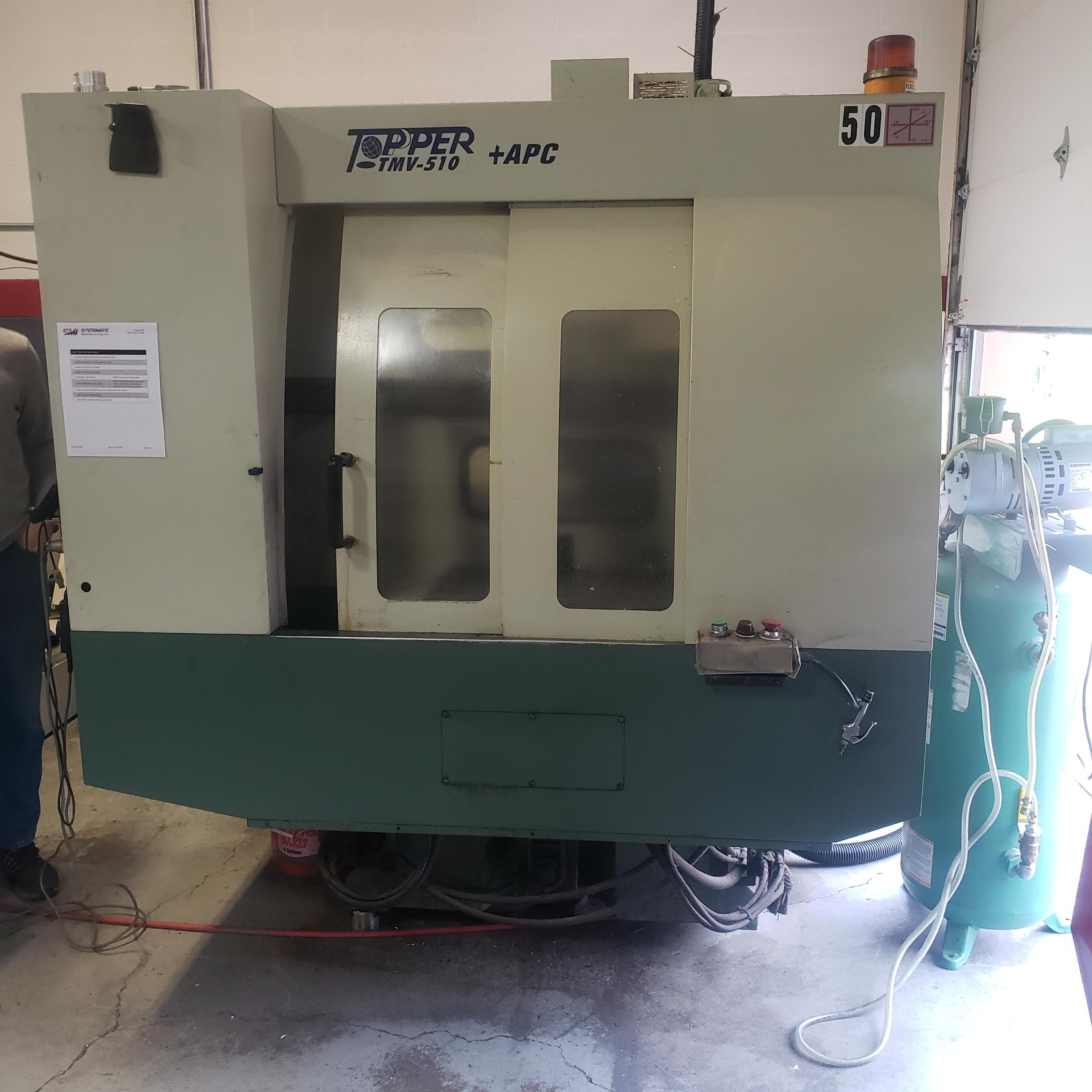 2000 Topper TMV 510T/APC Vertical Machining Center (#3719)