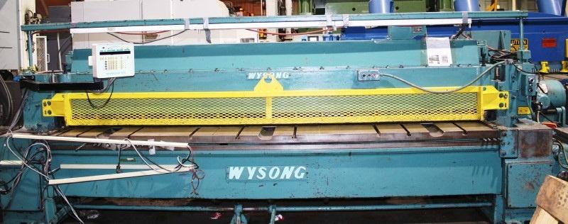 Wysong 1225 Mechanical Power Squaring Shear (#3031)