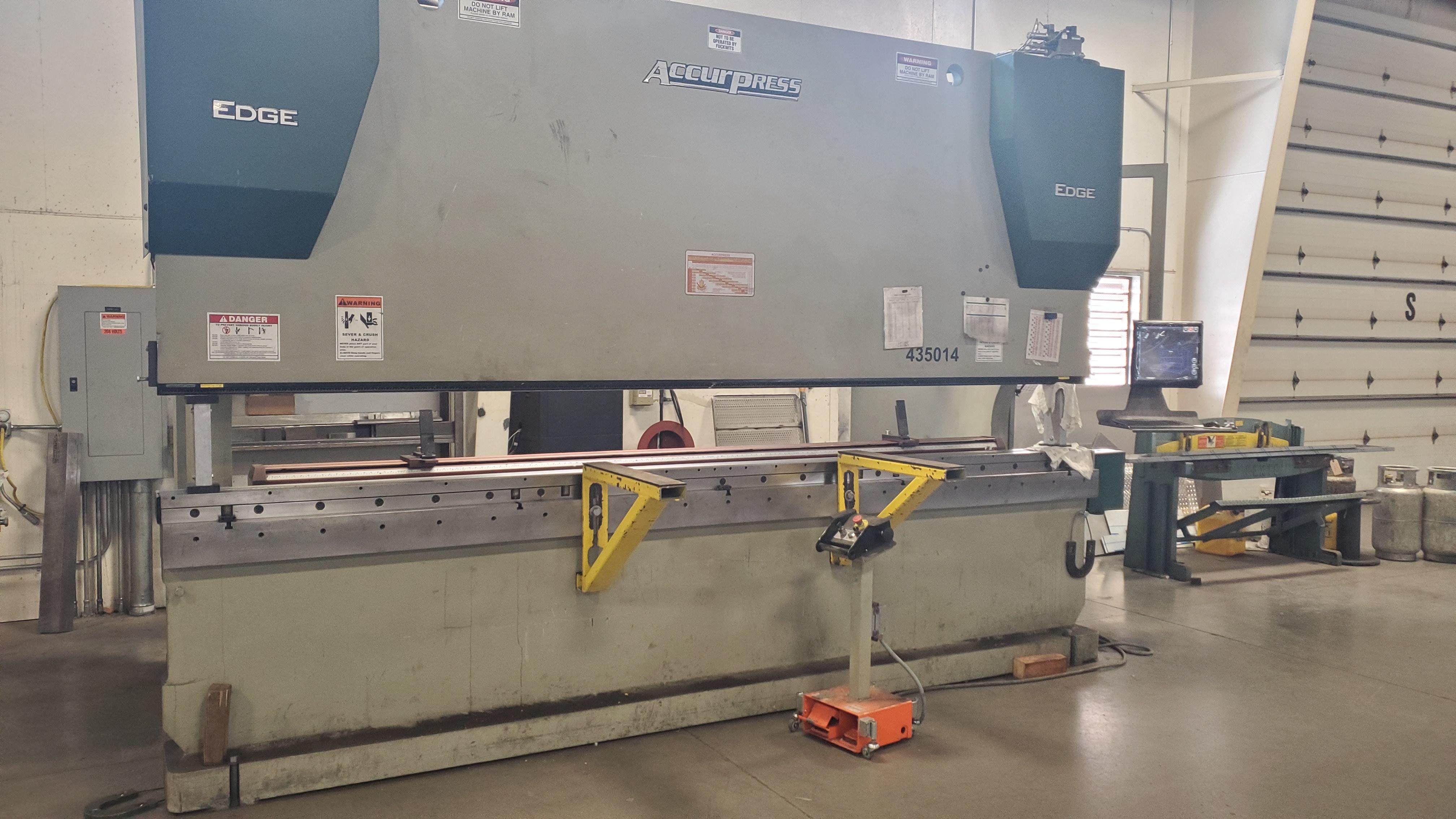 2015 Accurpress EDGE 435014 Hydraulic Press Brake (#3613)