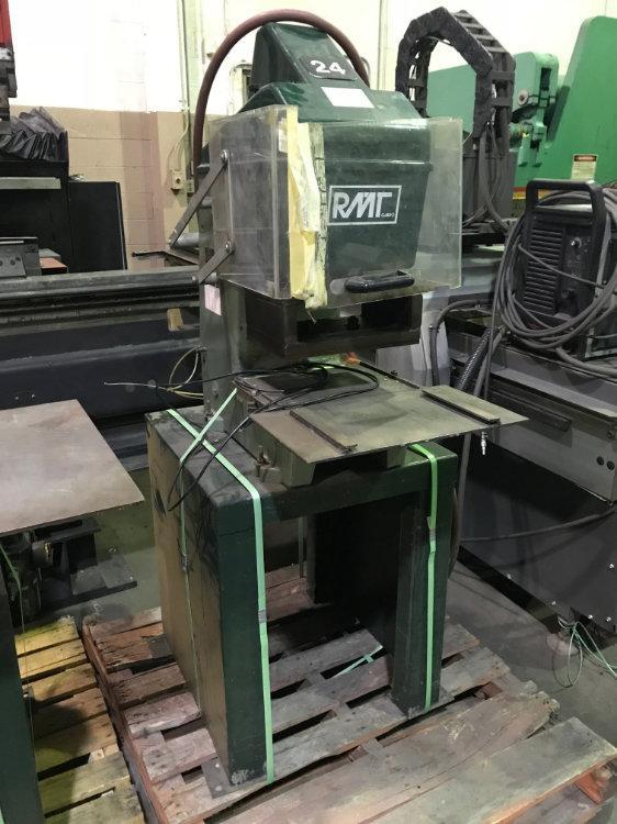 USED RMT 10 TON Pneumatic TOGGLE PRESS, Model 10C,  Stock No. 10365