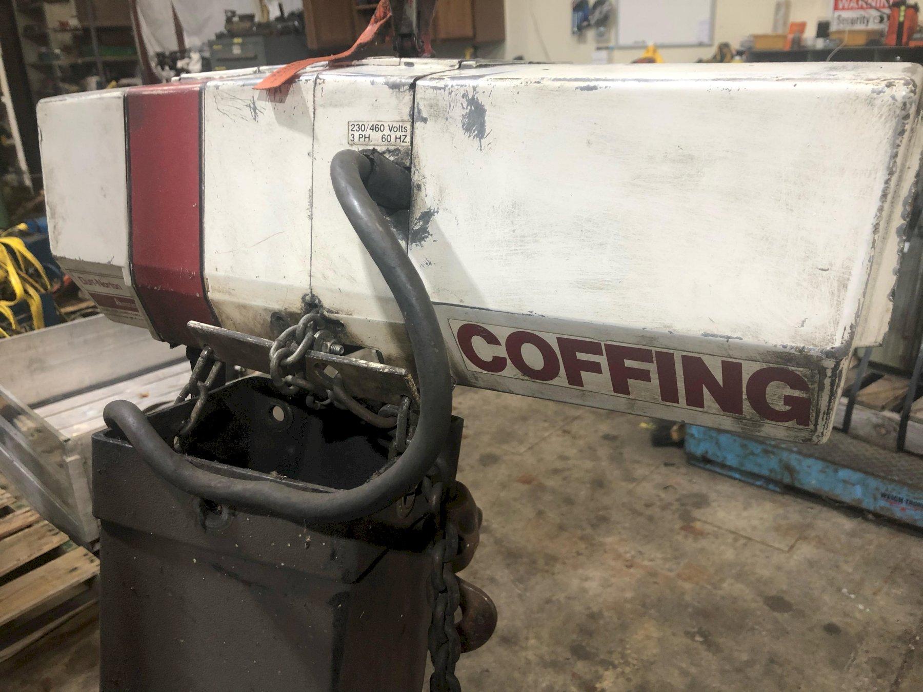 1 TON COFFING POWERED CHAIN HOIST: STOCK 13933
