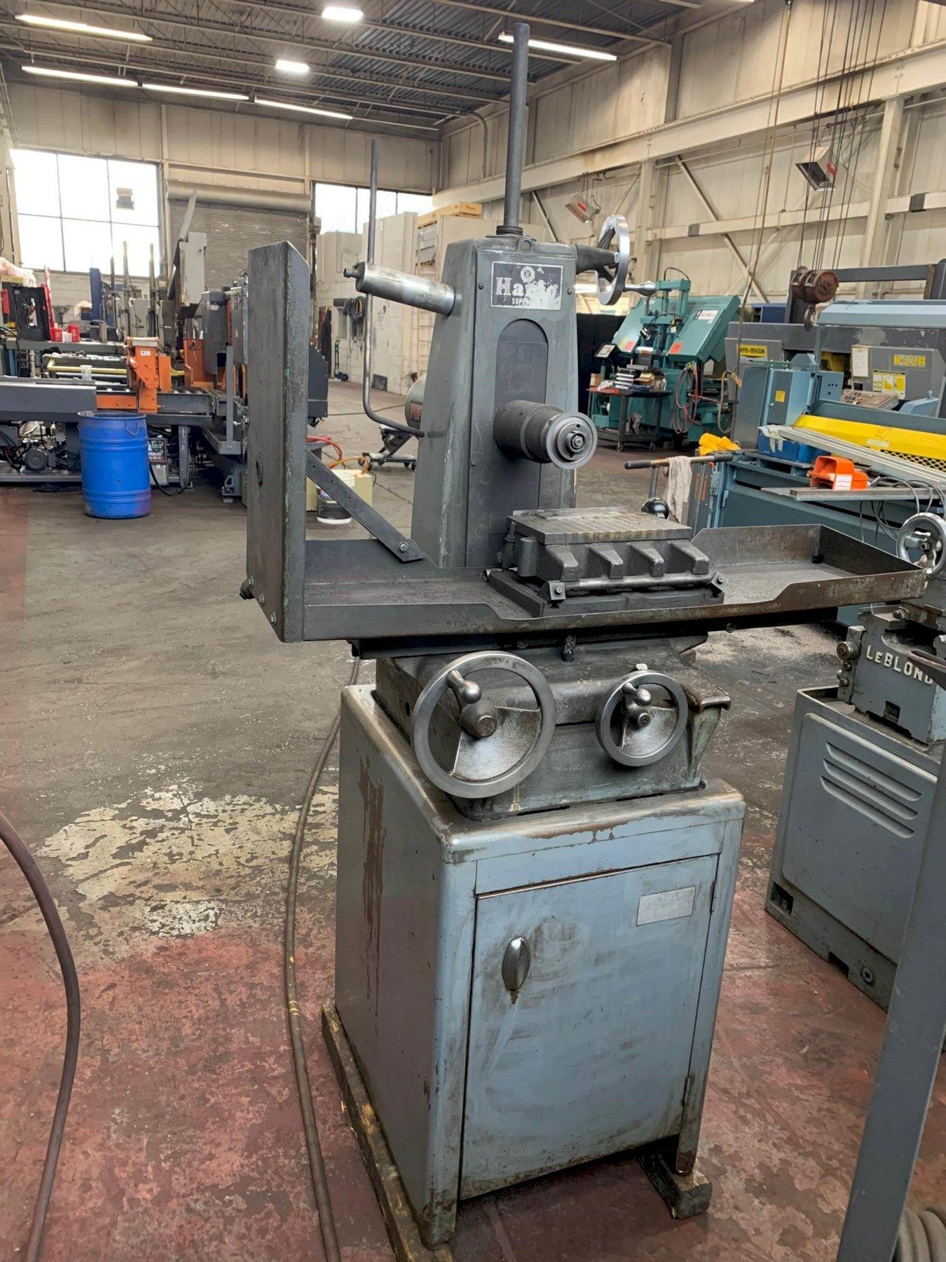 """USED HARIG 6"""" X 12"""" MODEL SUPER 612 HAND FEED SURFACE GRINDER, Stock #10822, Year 1966"""