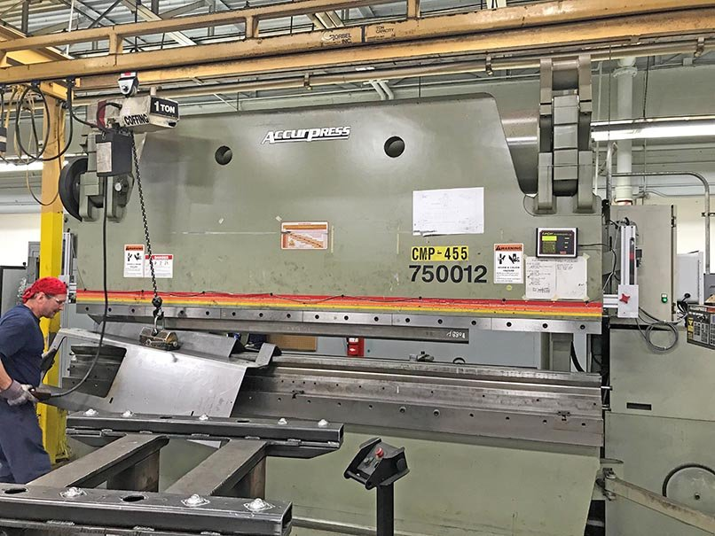 2013 Accurpress 750012 Press Brake (#3907)