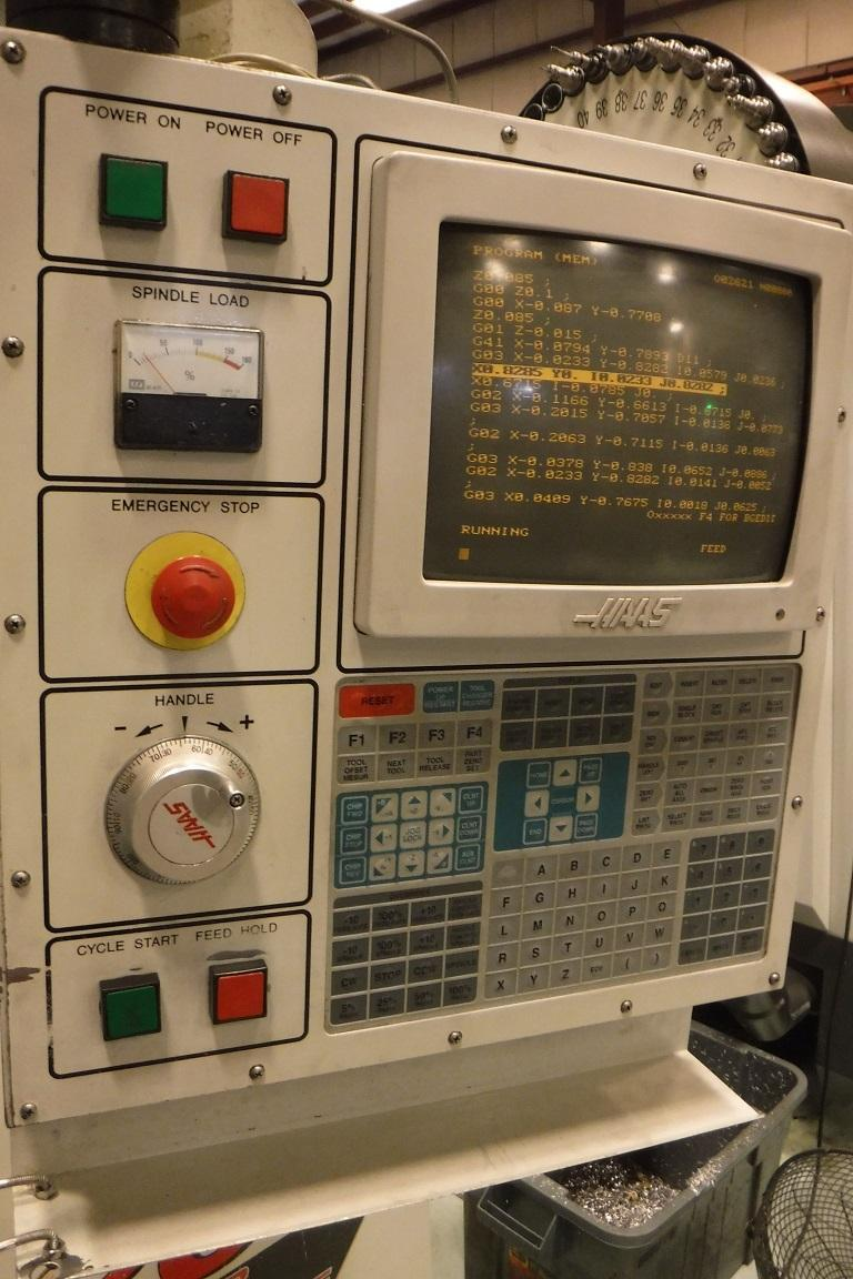 HAAS MODEL #VF0E MACHINING CENTER: STOCK 70462