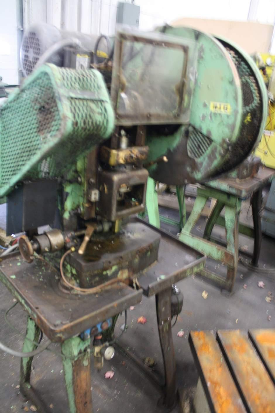 2/1 ON V & O DOUBLE ACTION BLANK & CUP PRESS: STOCK #66681