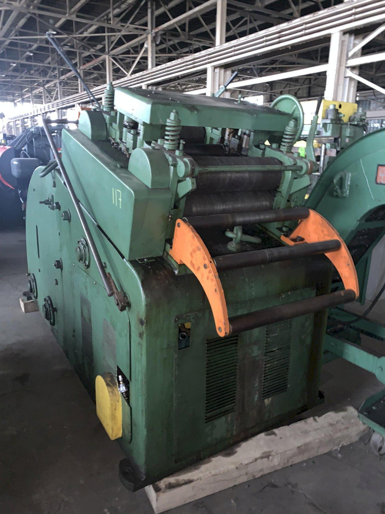 """.187 X 18"""" LITTELL #620D-5PD CONTINUOUS STRAIGHTENER & COIL CRADLE: STOCK #10481"""