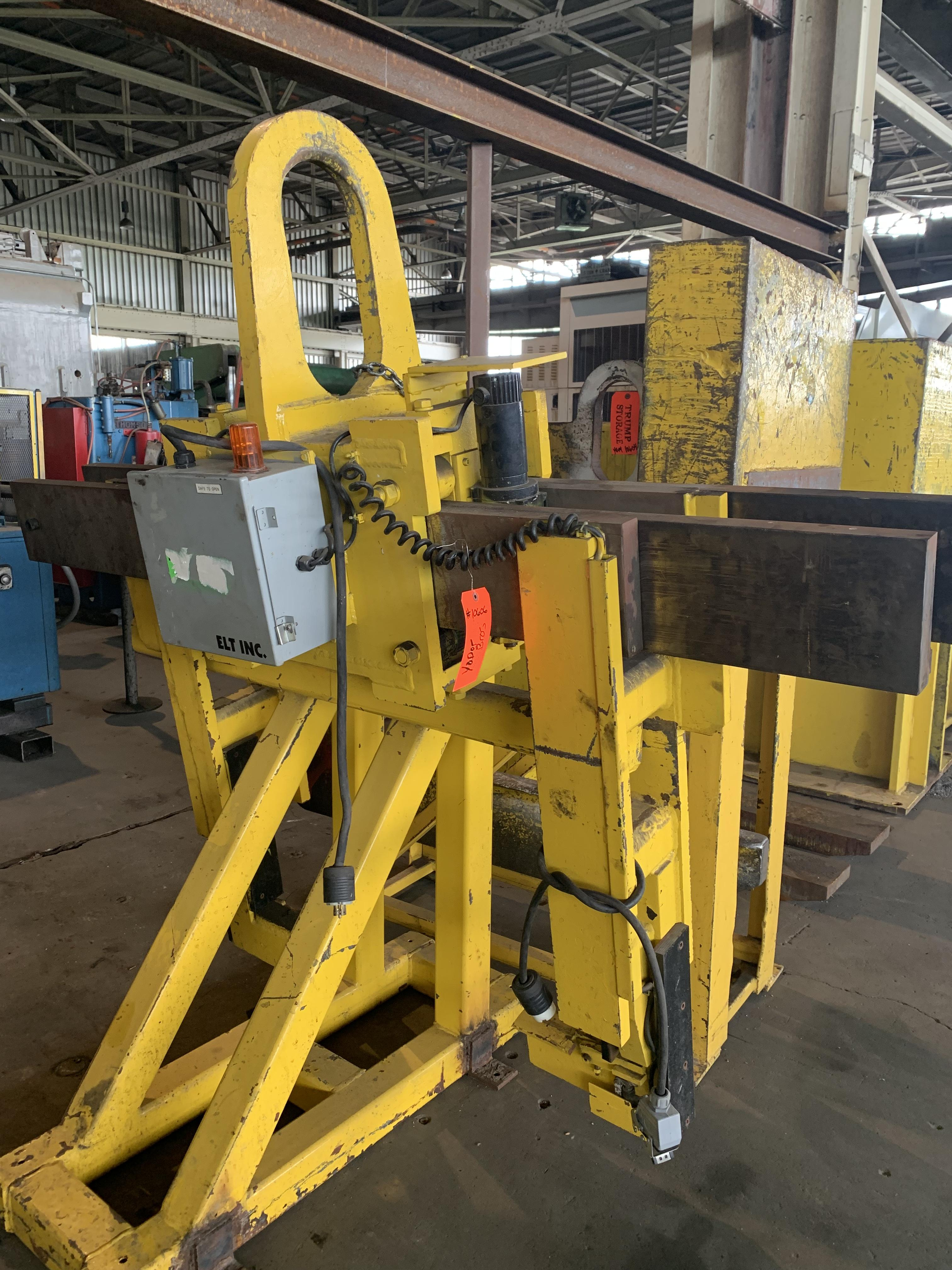 10,000 LBS ADJUSTABLE POWERED COIL GRABBER: STOCK #10606
