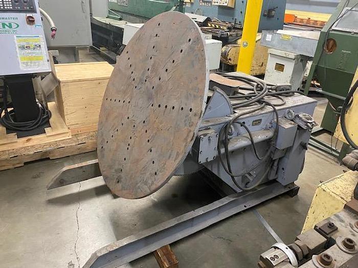 Aronson Model HD-30 Welding Positioner 3,000 lb. #5888