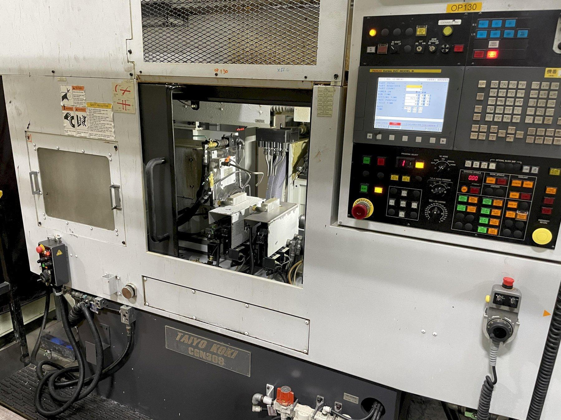 Taiyo Koki CGN30S CNC Cylindrical Grinder