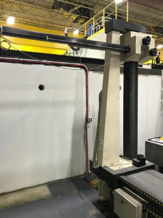 "Poli Globo Coordinate Measuring Machine With 96"" X 48"" Granite Surface Plate"