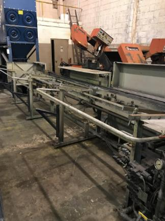 Tsune TK5M90PL Fully Auto Non-Ferrous Circular Saw, With Incline Loading Rack, 2002