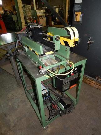 """.015"""" To .065"""" X Up To 10"""" Kent Mdl 10-065 PCMS Portable Shear End Welder, Stock #10204"""
