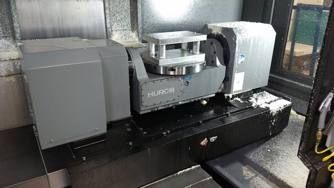 Hurco VMX 60Ui (2015 Del. New 2016) Vertical Machining Center, 24HP 5-Axis Trunnion Table Style