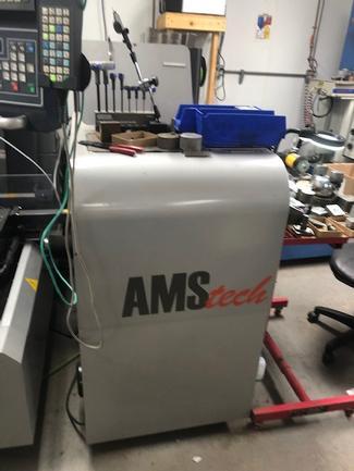 AMS Tech AW3SL Wire EDM (2011) AC Servo Motor/Linear Motor
