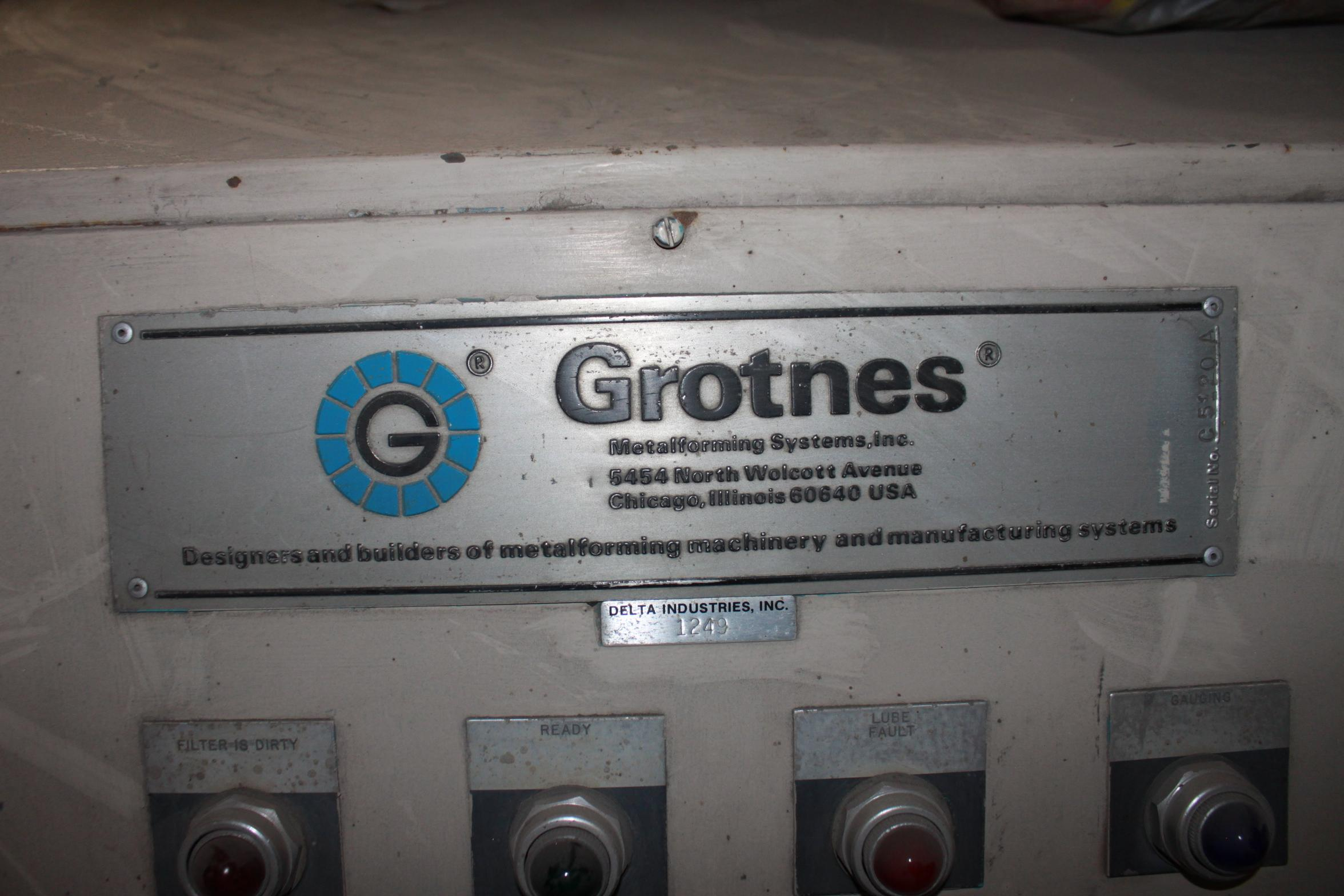 360 TON GROTNES 12 SEGMENT HYDRAULIC HEATED RING EXPANDER: STOCK #10877