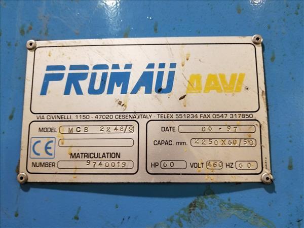 DAVI MCB2248/S 4-ROLL HYDRAULIC PLATE ROLL