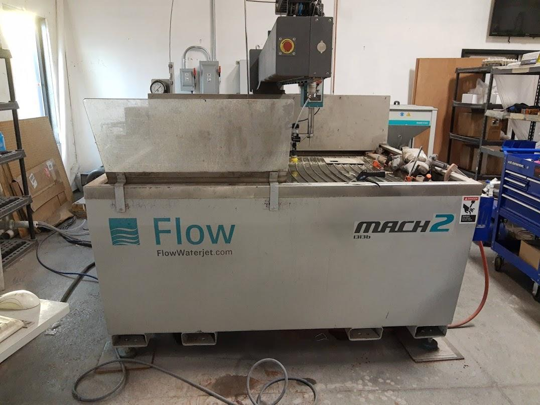 Flow Mach 2 1313b CNC Waterjet Cutting System - 131 hours!