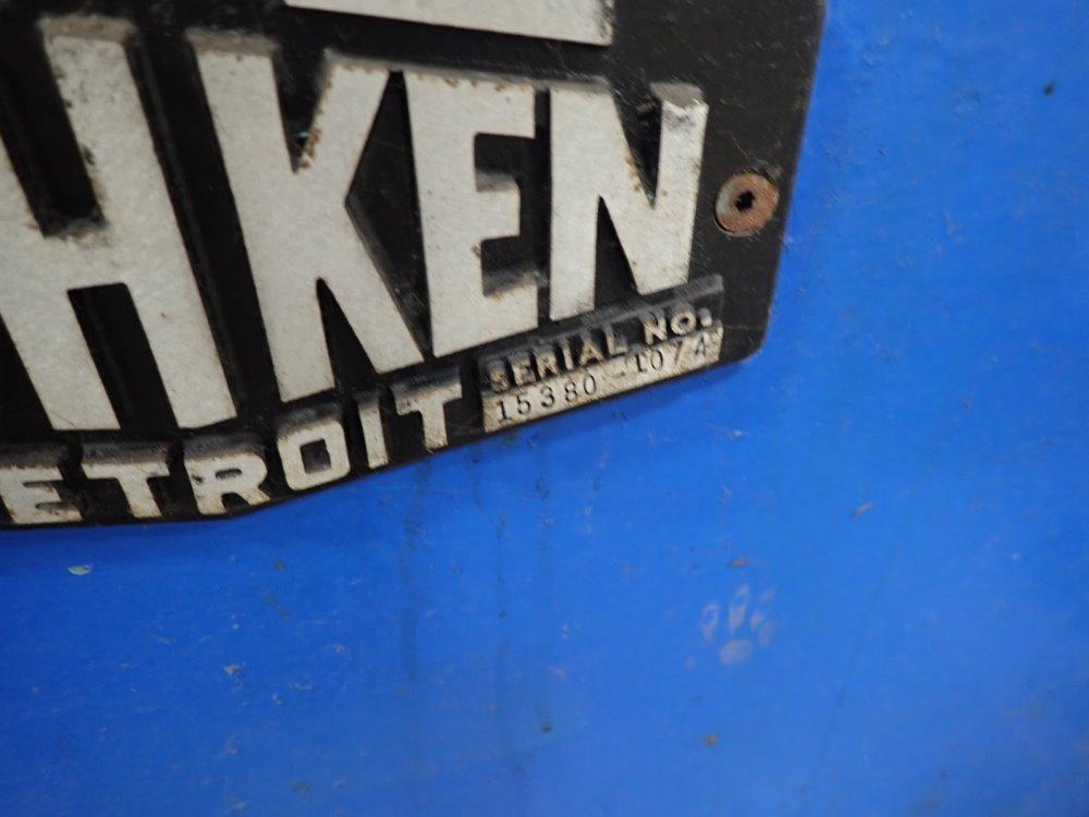 """8"""" TISHKEN MODEL 6R-8 POWERED EDGE CONDITIONER / DEBURRER: STOCK #11166"""