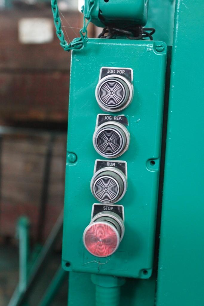 """30"""" X 17"""" MODEL 100 MEMCO 2 ROLL EMBOSSER: STOCK #10938"""