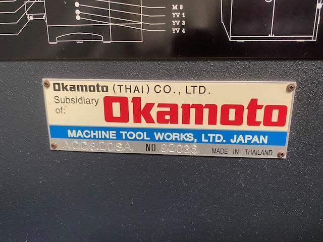 "Okamoto ACC820SA Automatic Surface Grinder 8"" x 20"""