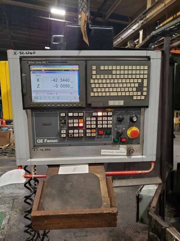 "Giddings & Lewis Model 513 60"" CNC Vertical Boring Mill"