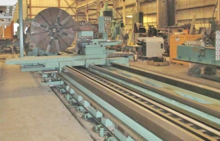"82"" X 590"" Dainichi WW III, 64"" O/Carr, 200 RPM, 60 Ton Wt, in/mm, 100 HP, '80 #23206"
