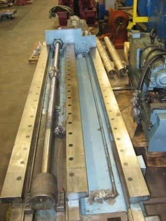 "G & L Column From 6"" MC60/G60T CNC Horizontal Boring Mill, 84"" Travel, '89 #23385"