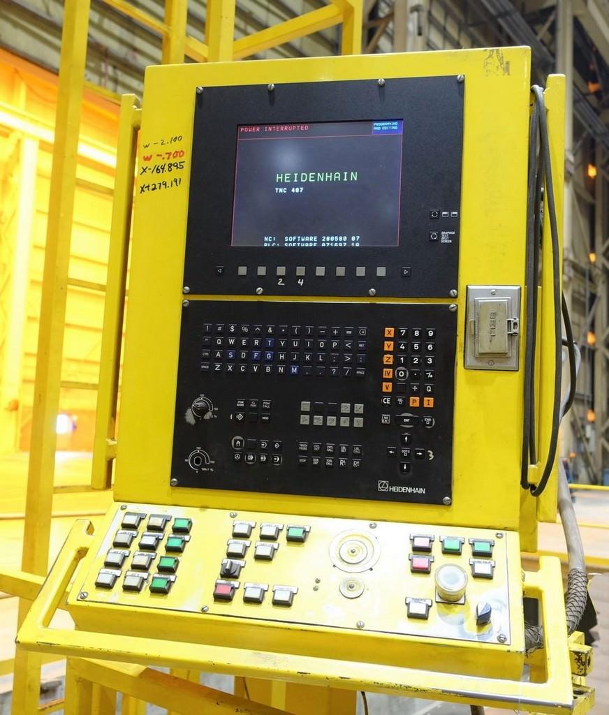 """5.9"""" Scharmann Heavycut 2 Ram, X780"""",Y138"""",Z23.4"""",W27.6"""", 60 HP, Heid TNC 407, #27919"""