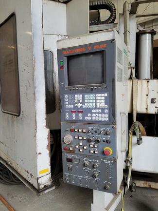 """49"""" Mazak A-12NX, Live Milling, Pallet Changer, Mazatrol T-Plus CNC, 30 ATC, #29777"""