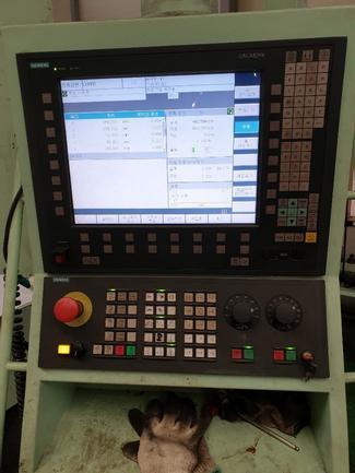 """5.12"""" Kiheung HiTrax-H, Ram, X157"""", Y118"""", Smns 840D CNC, 40ATC, 2500 RPM,'10,#30027"""