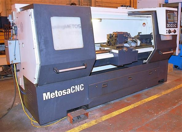 "Clausing MC1760, 17.7""Swing, 60""Centers, Fagor 8055, 8 Sta Turret, Tailstock, 2012, #29122"