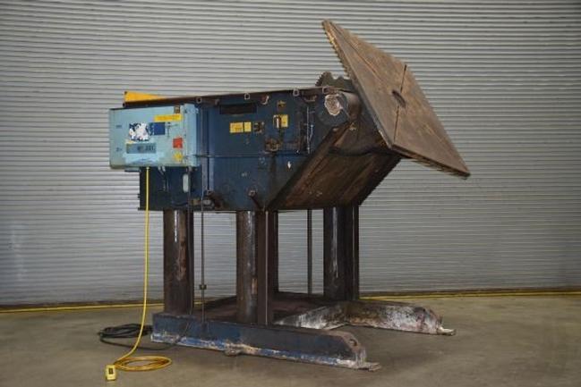 "25,000 Lb. Aronson GE-250CS, Vari-Speed, 60"" Sq Table, Geared Elevation, S/N 8173, #25620"
