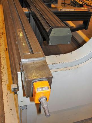 """150 Ton Accurpress, 12'OA, 10'10""""BH, ETS3000 6-Ax CNC, Wila Hyd Clmpg, Tlg, '02, #29109"""