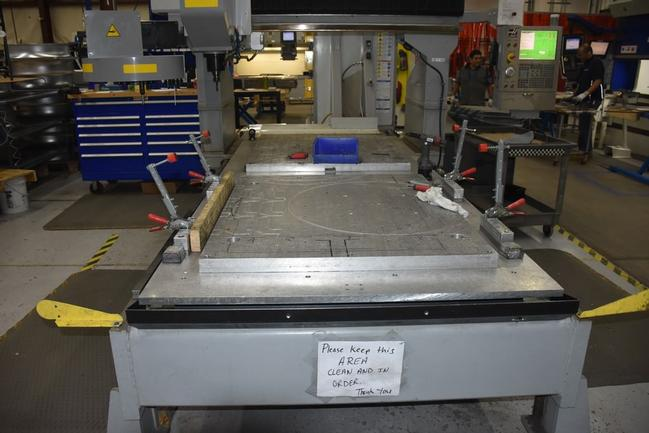 """No. GR-510 Haas Router, X121"""", Y61"""", 24""""Ext'd Z-Axis, Probe, High Spd, 20 ATC, '09, #30164"""
